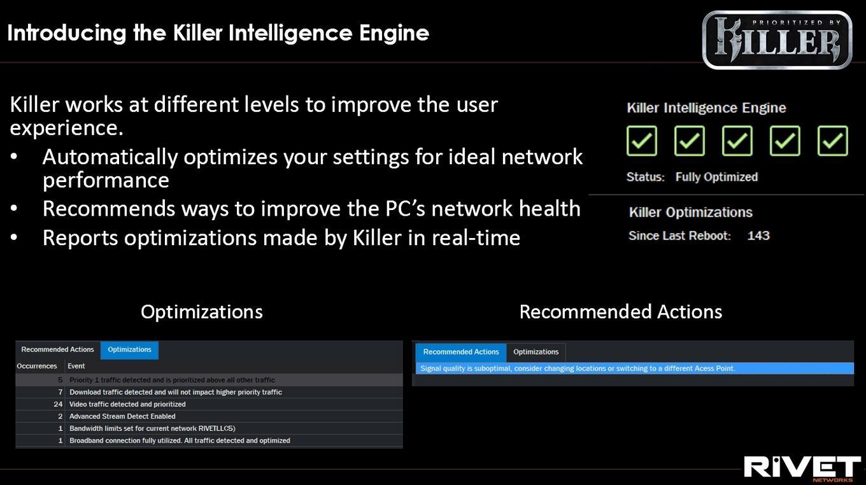 По следам CES: Rivet Networks Killer E3000 работает на скорости до 2
