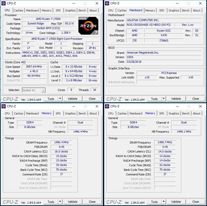 Тест и обзор: ASUS ROG Crosshair VII Hero (Wi-Fi