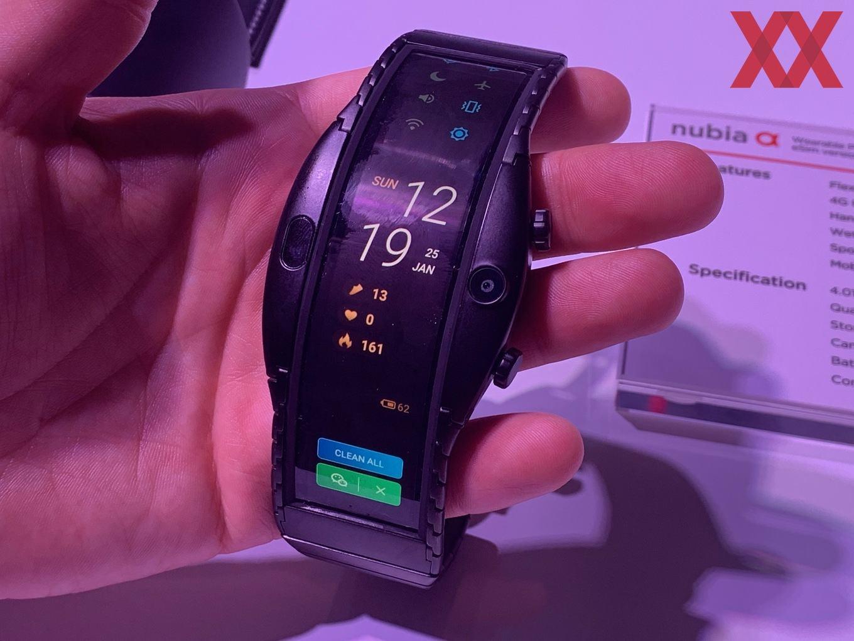 Часы смартфон ZTE NUBIA ALPHA с OLED-дисплеем в Калининске