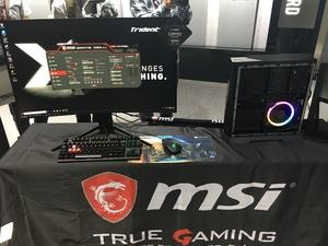 MSI Trident X in Aktion