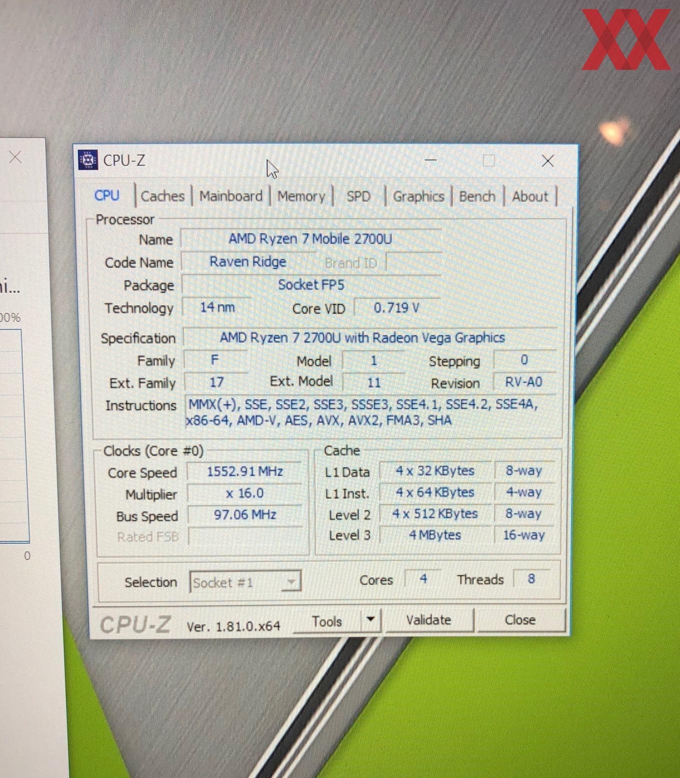 Amd Ryzen 7 2700U Mobile Processor – Meta Morphoz