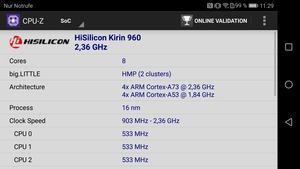 Der im Honor 8 Pro verbaute Kirin 960 liefert mehr als ausreichend Leistung - aber nicht auf Dauer