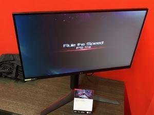 LG UltraGear 27GL850 auf der Gamescom 2019