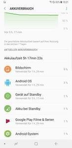 In puncto Laufzeiten enttäuscht das Galaxy S9+ stellenweise