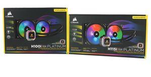 Corsair Hydro Series H100i RGB Platinum und H115i RGB Platinum