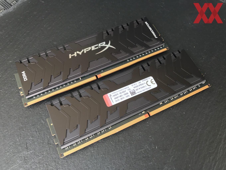 Тест и обзор: HyperX Predator DDR4-3333 16 GB - Hardwareluxx