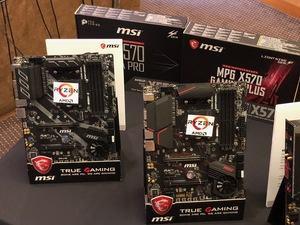 Die neuen X570-Mainboards von MSI