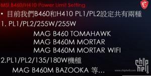 MSI mit höheren Power Limits