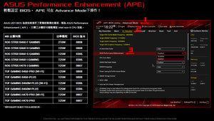 ASUS Performance Enhancement