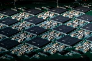 Intel Nahuku-Board mit Loihi-Chips