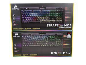 Corsair Strafe RGB MK.2 und K70 RGB MK.2