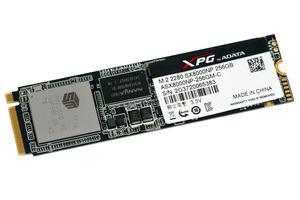 Die ADATA SX8000 SSD im M.2-Format mit NVMe.