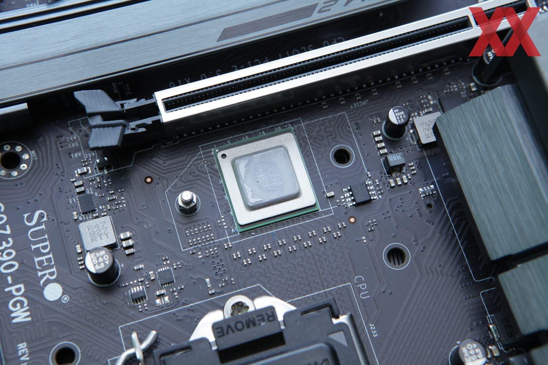 Тест Supermicro C9Z390-PGW: имеет ли смысл коммутатор PCI