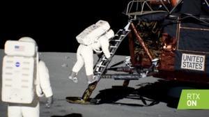 NVIDIA RTX-Demo zur Mondlandung