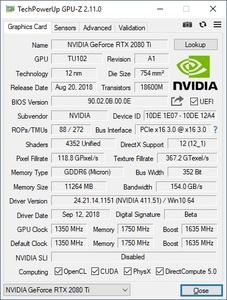NVIDIA GeForce RTX 2080 Ti Founders Edition