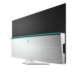 Alienware 55 inch AW5520QF OLED monitor. Alienware AW5520QF