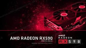 Präsentation zur AMD Radeon RX 590