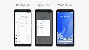 Android P Beta 1: Im Dashboard werden Nutzungszeiten übersichtlich präsentiert