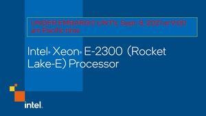 Intel Xeon E-2300-Serie