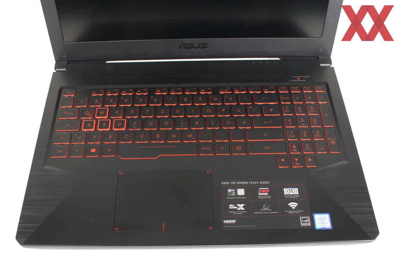 Тест и обзор: ASUS TUF Gaming FX504 - игровой ноутбук по