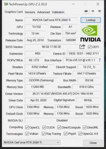 GPUz und CPUz des Corsair One Pro i200