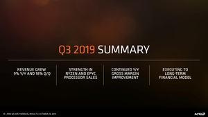 AMD Quartalszahlen Q3 2019