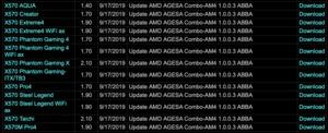 ASRock BIOS-Updates mit AGESA 1.0.0.3ABBA