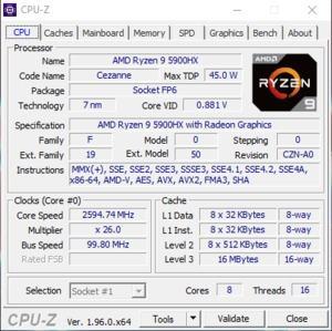 GPUz und CPUz des Gigabyte A7 X1