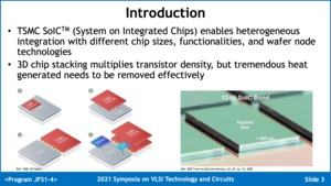 TSMC Ultra High Power Cooling Solution for 3D-ICs