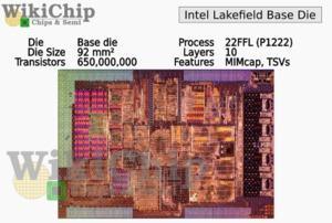 Intel Lakefield (Quelle: WikiChip)