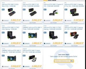 GeForce RTX 3080 Ti Verkaufsstart