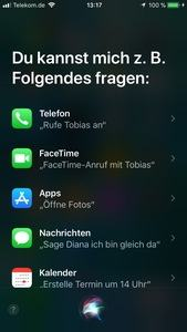 Screenshots zu Apple iOS 11