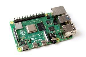 Raspberry Pi 4 mit 8 GB Arbeitsspeicher (Quelle: Gareth Halfacree)