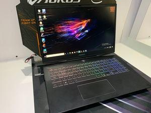 Die neuen Gigabyte-Notebooks auf der CES 2019