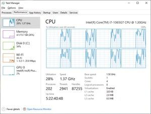 Intel Core i7-1065G7 im Lenovo Yoga 940