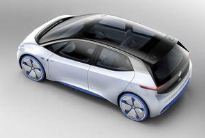 VW spricht beim I.D.-Innenraum vom Open-Space-Konzept (©: Volkswagen)
