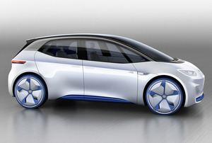 Die rein elektrisch angetriebene Version des Golf 8 wird VW unter dem Namen I.D. anbieten (©: Volkswagen)