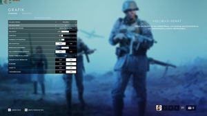 Grafikeinstellungen von Battlefield 5