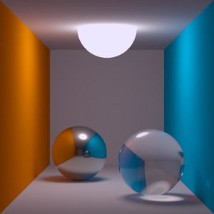 Path Tracing (Thomas Kabir, CC BY-SA 2.0 DE)