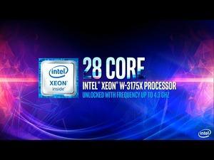 Präsentation des Intel Xeon W-3175X
