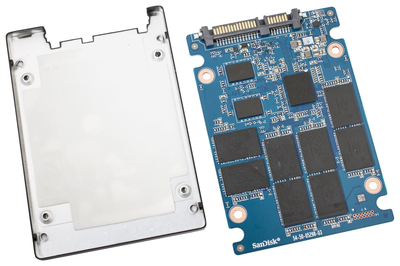 Die Western Digital Blue SSD im 2,5-Zoll-Format.