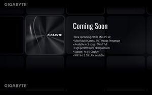 GIGABYTE Brix AMD Ryzen