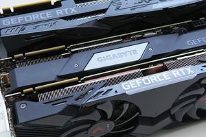 Drei Modelle der GeForce RTX 2080