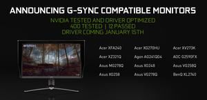 NVIDIA G-Sync Ultimate und G-Sync Compatible