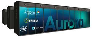 Supercomputer Aurora mit Intel-Hardware