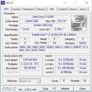 GPUz und CPUz der ZOTAC ZBOX Magnus One