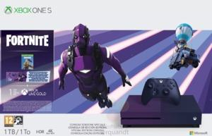 Xbox One S Fortnite Limited Edition Bundle