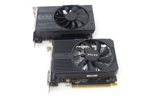EVGA GeForce GTX 1050 Ti SC und ZOTAC GeForce GTX 1050 Ti