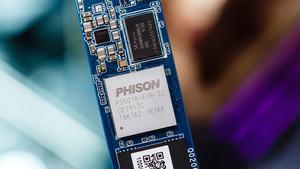 Phison PS5016-E16 (Bild: Tomshardware)