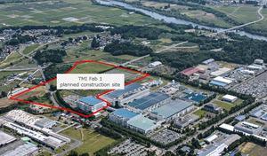 Geplantes TMC-Werk in Kitakami